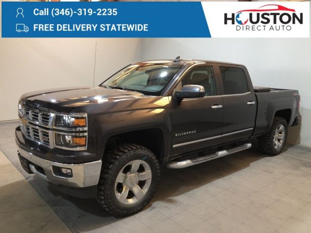 Used 2015 Chevrolet Silverado 1500 for sale in Houston TX.  We Finance!