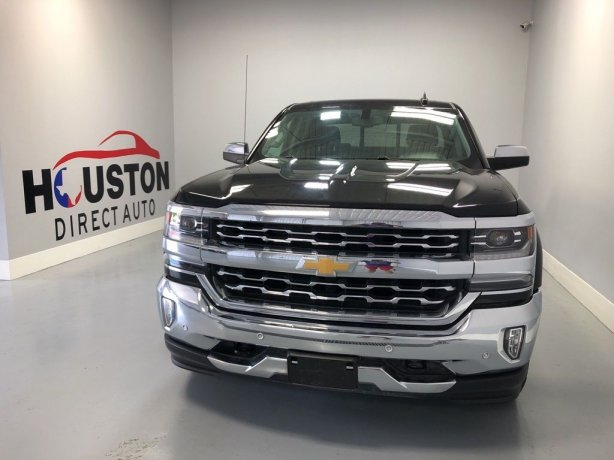 Used 2017 Chevrolet Silverado 1500 for sale in Houston TX.  We Finance!