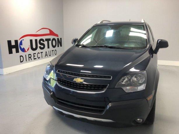 Used 2015 Chevrolet Captiva Sport for sale in Houston TX.  We Finance!