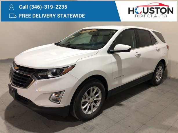 Used 2020 Chevrolet Equinox for sale in Houston TX.  We Finance!