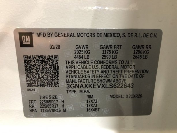 Chevrolet Equinox cheap for sale