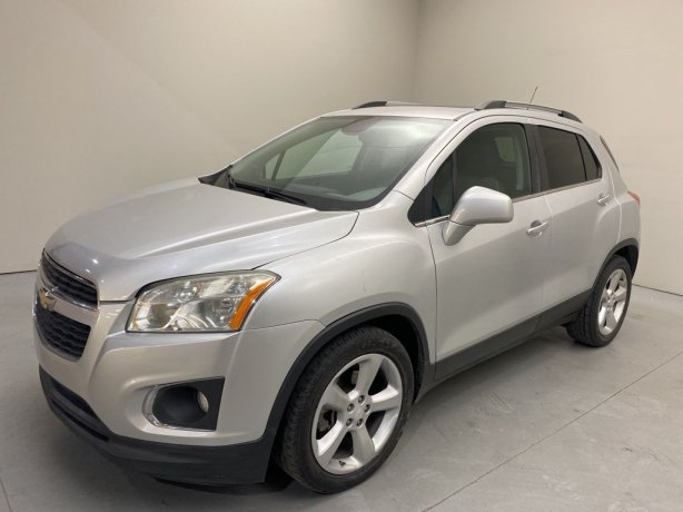 Used 2015 Chevrolet Trax for sale in Houston TX.  We Finance!