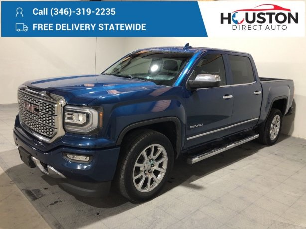 Used 2017 GMC Sierra 1500 for sale in Houston TX.  We Finance!