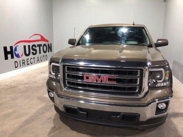 Used 2015 GMC Sierra 1500 for sale in Houston TX.  We Finance!