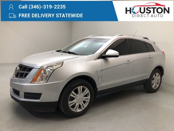 Used 2011 Cadillac SRX for sale in Houston TX.  We Finance!