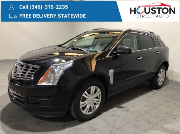 Used 2014 Cadillac SRX for sale in Houston TX.  We Finance!