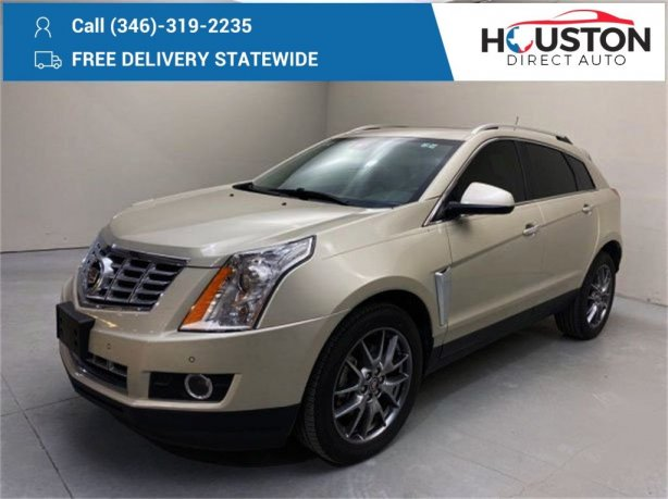 Used 2015 Cadillac SRX for sale in Houston TX.  We Finance!