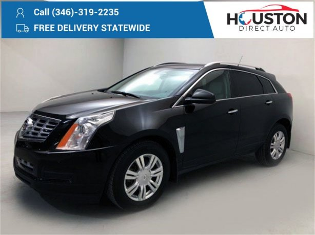 Used 2013 Cadillac SRX for sale in Houston TX.  We Finance!
