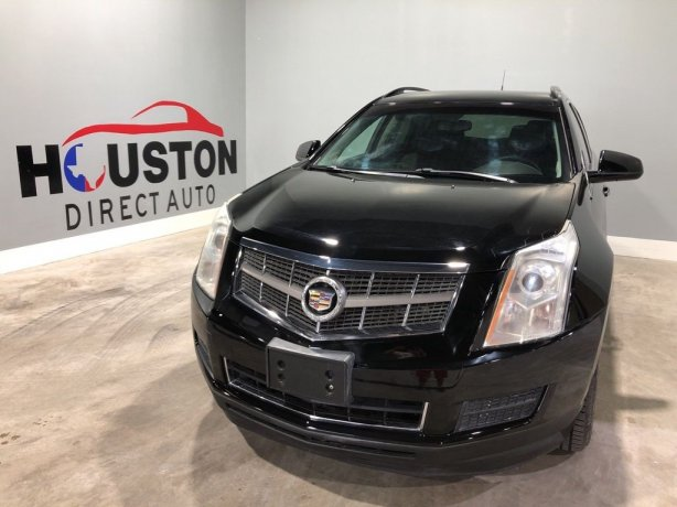 Used 2012 Cadillac SRX for sale in Houston TX.  We Finance!