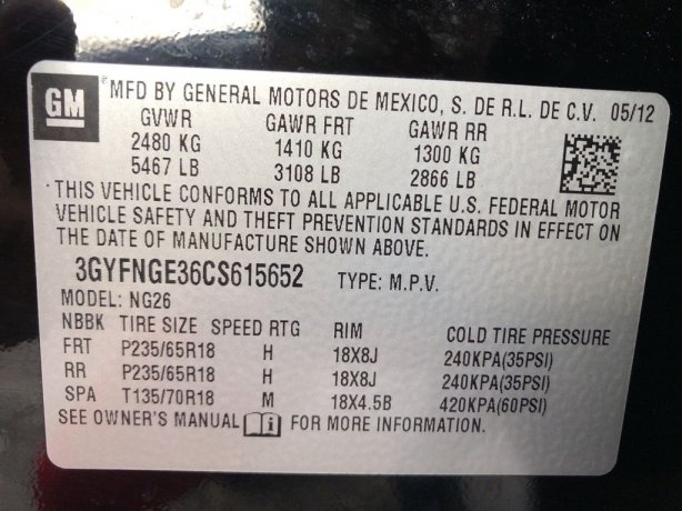 Cadillac SRX 2012 near me