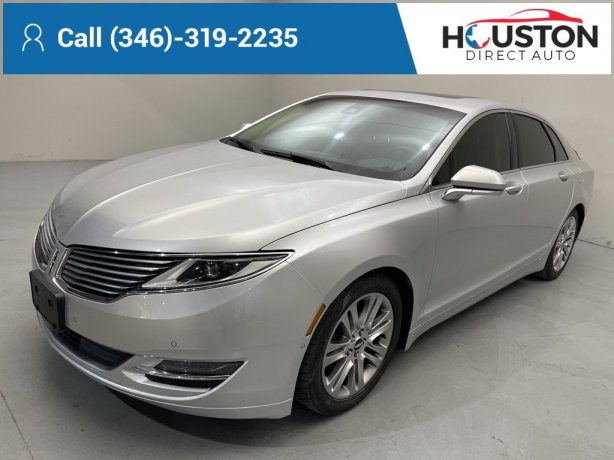 Used 2015 Lincoln MKZ for sale in Houston TX.  We Finance!