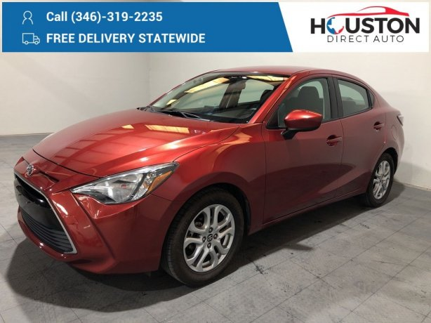 Used 2017 Toyota Yaris iA for sale in Houston TX.  We Finance!