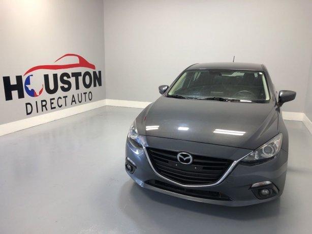 Used 2015 Mazda Mazda3 for sale in Houston TX.  We Finance!