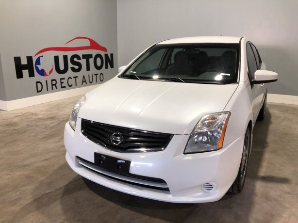 Used 2012 Nissan Sentra for sale in Houston TX.  We Finance!