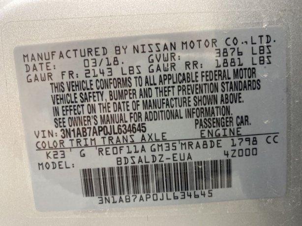 Nissan Sentra 2018 for sale