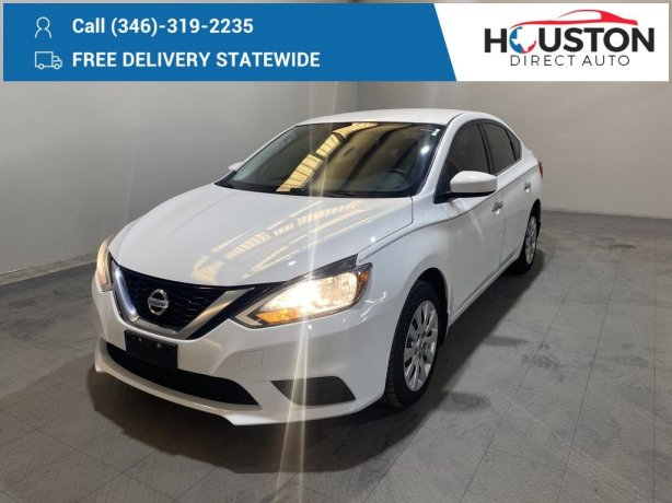 Used 2016 Nissan Sentra for sale in Houston TX.  We Finance!
