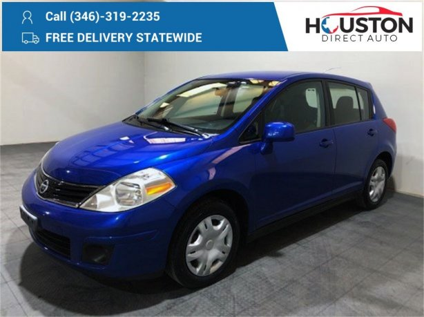 Used 2012 Nissan Versa for sale in Houston TX.  We Finance!