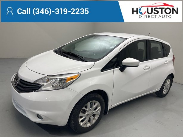 Used 2016 Nissan Versa Note for sale in Houston TX.  We Finance!