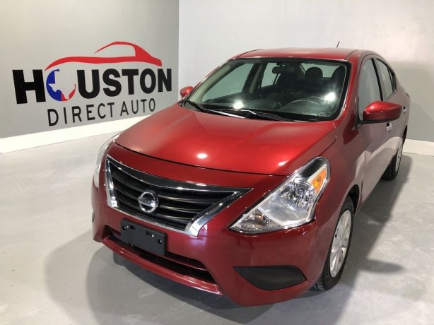 Used 2018 Nissan Versa for sale in Houston TX.  We Finance!