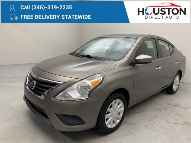 Used 2016 Nissan Versa for sale in Houston TX.  We Finance!