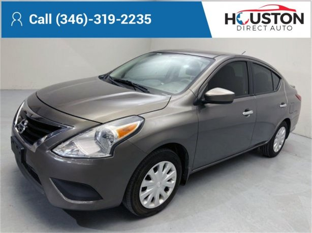 Used 2017 Nissan Versa for sale in Houston TX.  We Finance!