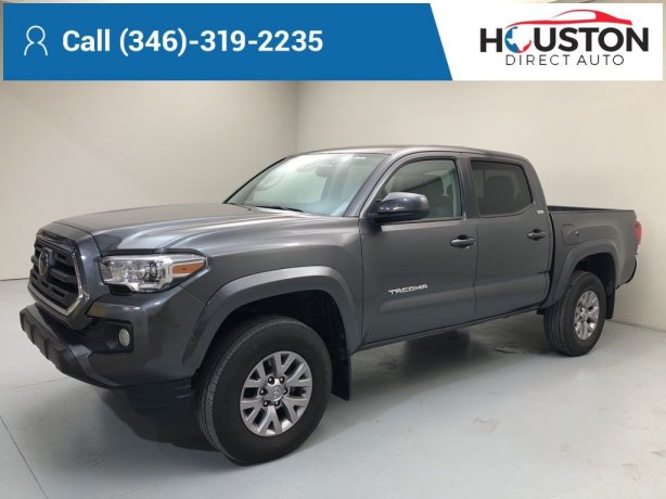 Used 2019 Toyota Tacoma for sale in Houston TX.  We Finance!