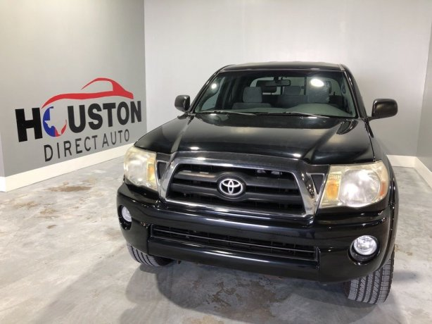 Used 2007 Toyota Tacoma for sale in Houston TX.  We Finance!