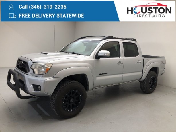 Used 2012 Toyota Tacoma for sale in Houston TX.  We Finance!