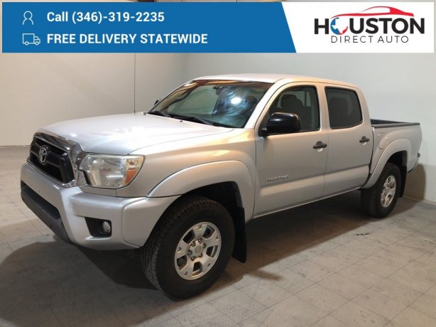 Used 2013 Toyota Tacoma for sale in Houston TX.  We Finance!