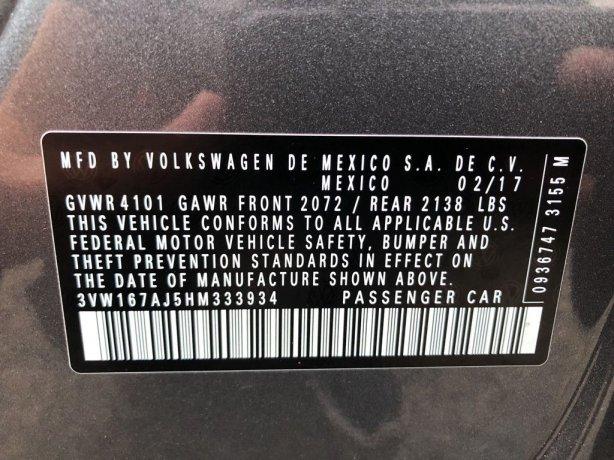 Volkswagen Jetta 2017 near me