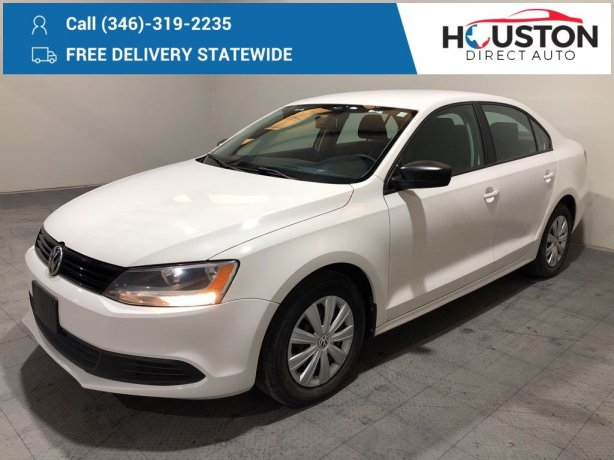 Used 2013 Volkswagen Jetta for sale in Houston TX.  We Finance!