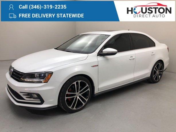 Used 2017 Volkswagen Jetta for sale in Houston TX.  We Finance!