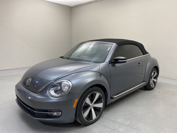 Used 2013 Volkswagen Beetle for sale in Houston TX.  We Finance!
