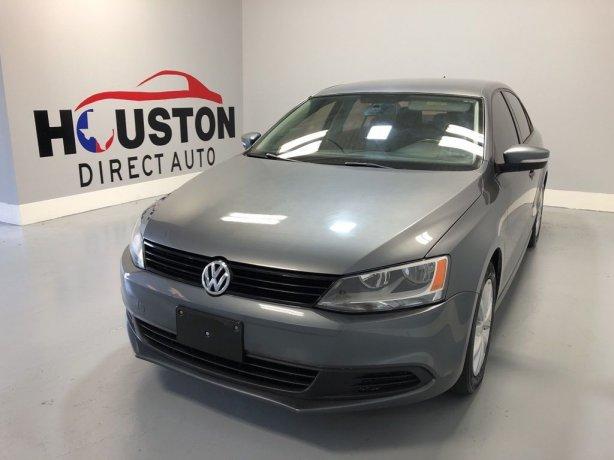 Used 2012 Volkswagen Jetta for sale in Houston TX.  We Finance!