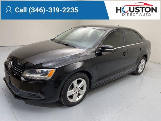 Used 2013 Volkswagen Jetta for sale in Houston TX.  We Finance!