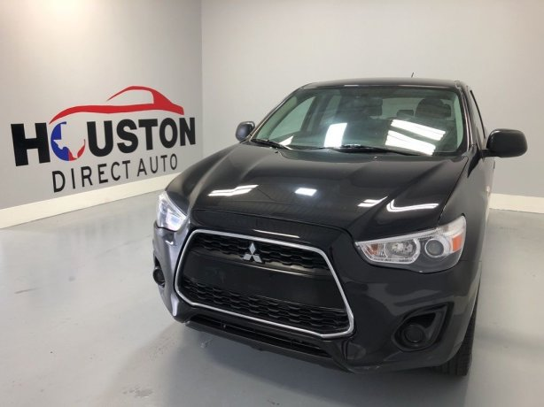 Used 2014 Mitsubishi Outlander Sport for sale in Houston TX.  We Finance!