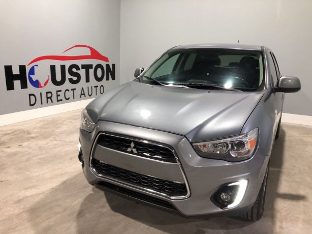 Used 2015 Mitsubishi Outlander Sport for sale in Houston TX.  We Finance!