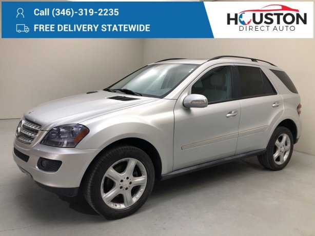 Used 2008 Mercedes-Benz M-Class for sale in Houston TX.  We Finance!