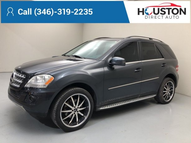 Used 2011 Mercedes-Benz M-Class for sale in Houston TX.  We Finance!