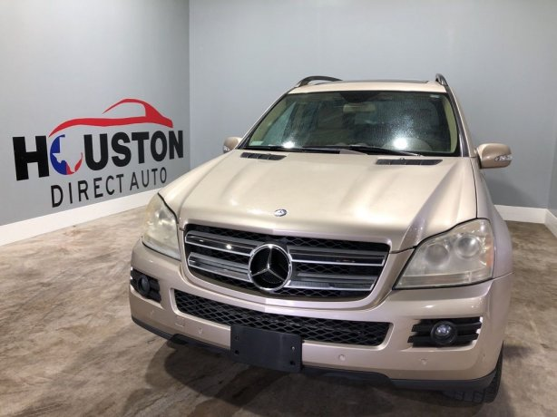 Used 2007 Mercedes-Benz GL-Class for sale in Houston TX.  We Finance!