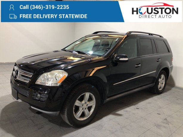 Used 2008 Mercedes-Benz GL-Class for sale in Houston TX.  We Finance!