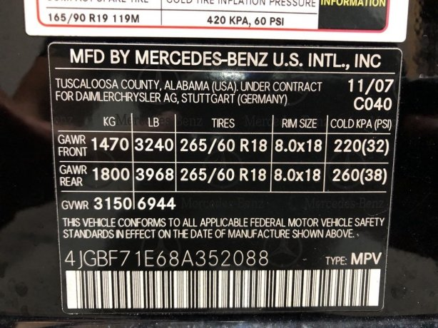 Mercedes-Benz GL-Class cheap for sale