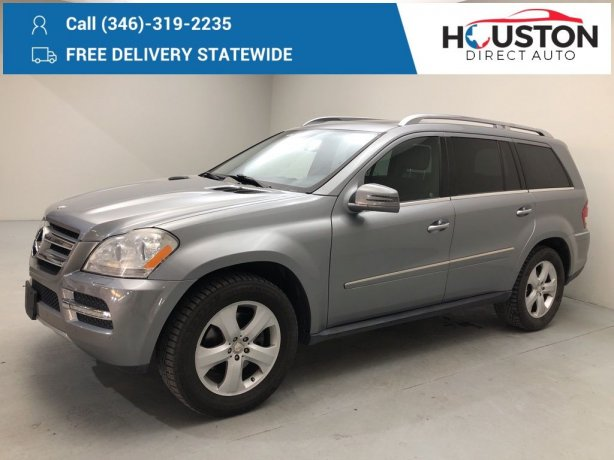 Used 2012 Mercedes-Benz GL-Class for sale in Houston TX.  We Finance!
