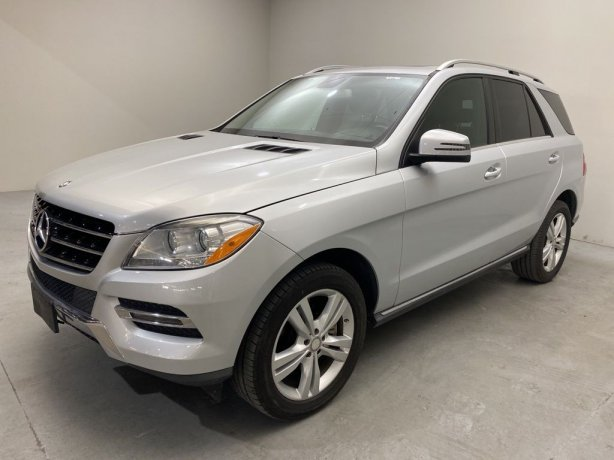 Used 2013 Mercedes-Benz M-Class for sale in Houston TX.  We Finance!