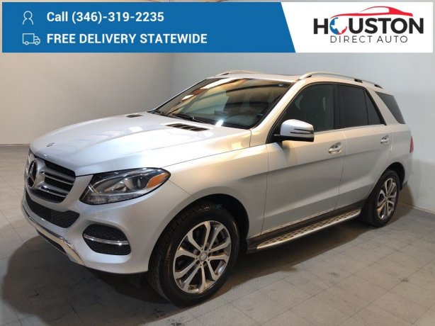 Used 2017 Mercedes-Benz GLE for sale in Houston TX.  We Finance!