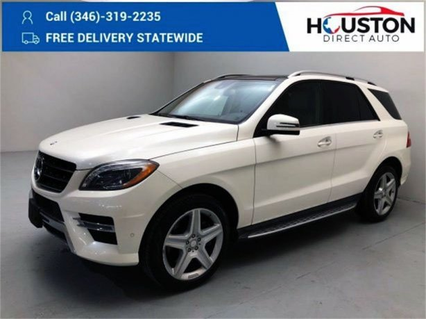 Used 2014 Mercedes-Benz M-Class for sale in Houston TX.  We Finance!