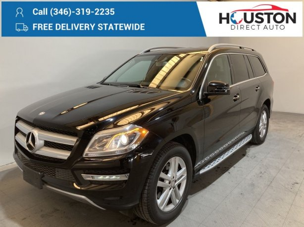 Used 2013 Mercedes-Benz GL-Class for sale in Houston TX.  We Finance!