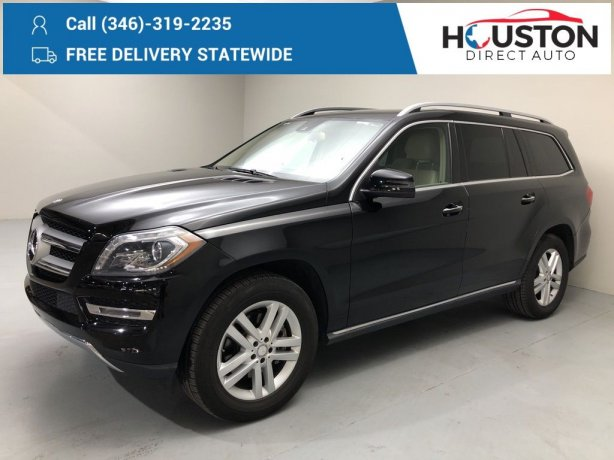 Used 2016 Mercedes-Benz GL-Class for sale in Houston TX.  We Finance!