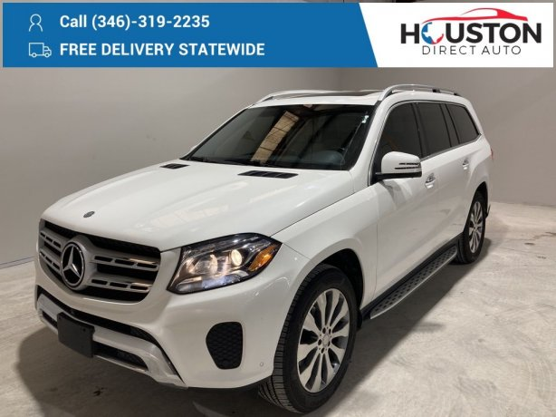 Used 2017 Mercedes-Benz GLS for sale in Houston TX.  We Finance!
