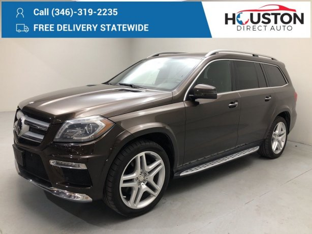 Used 2014 Mercedes-Benz GL-Class for sale in Houston TX.  We Finance!